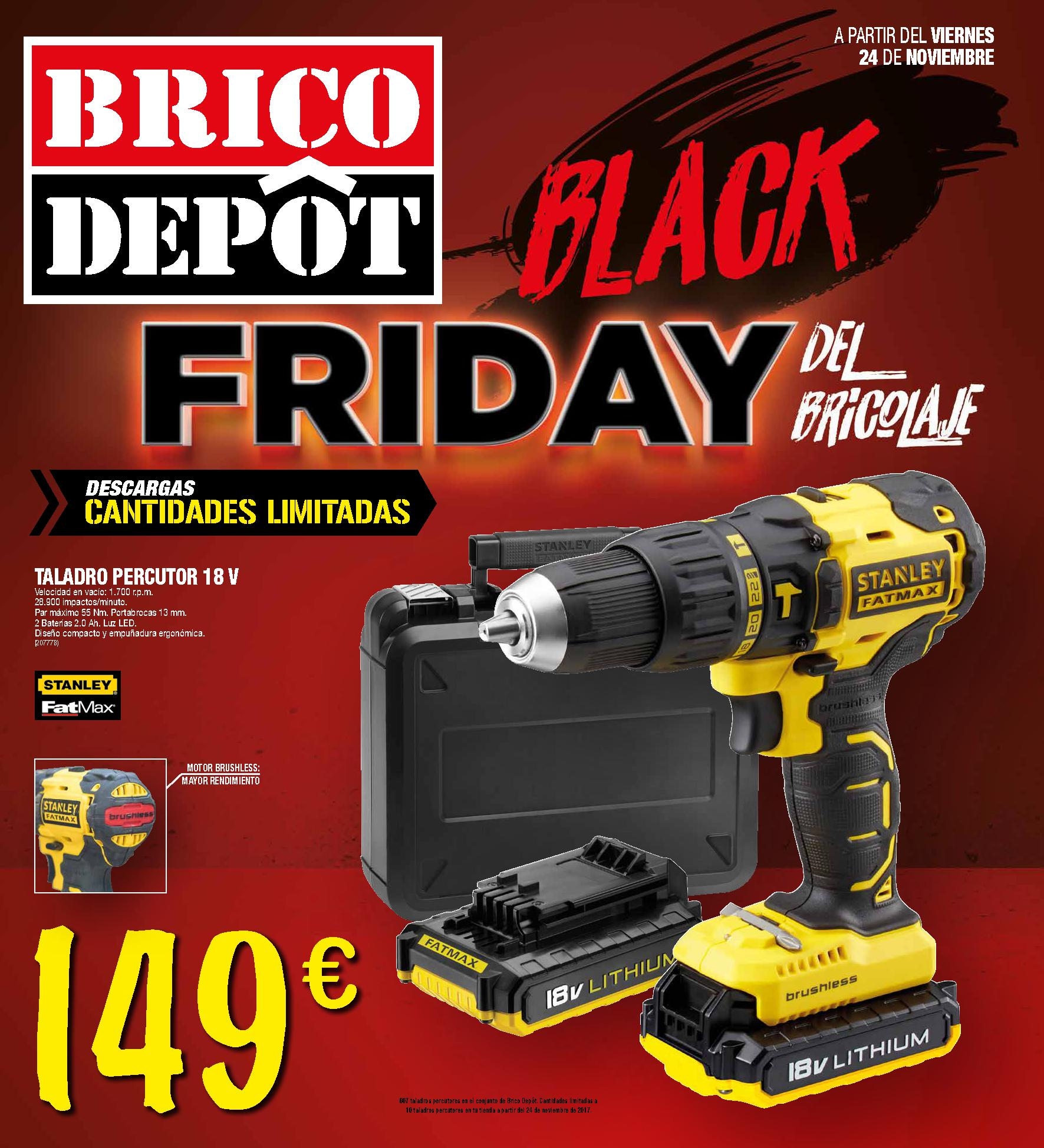 Black friday brico dep t noviembre 2017 imuebles for Catalogo brico depot cocinas 2017