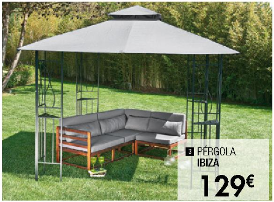 Recambio toldo pergola 4x3 cheap manomano with recambio for Lona repuesto toldo