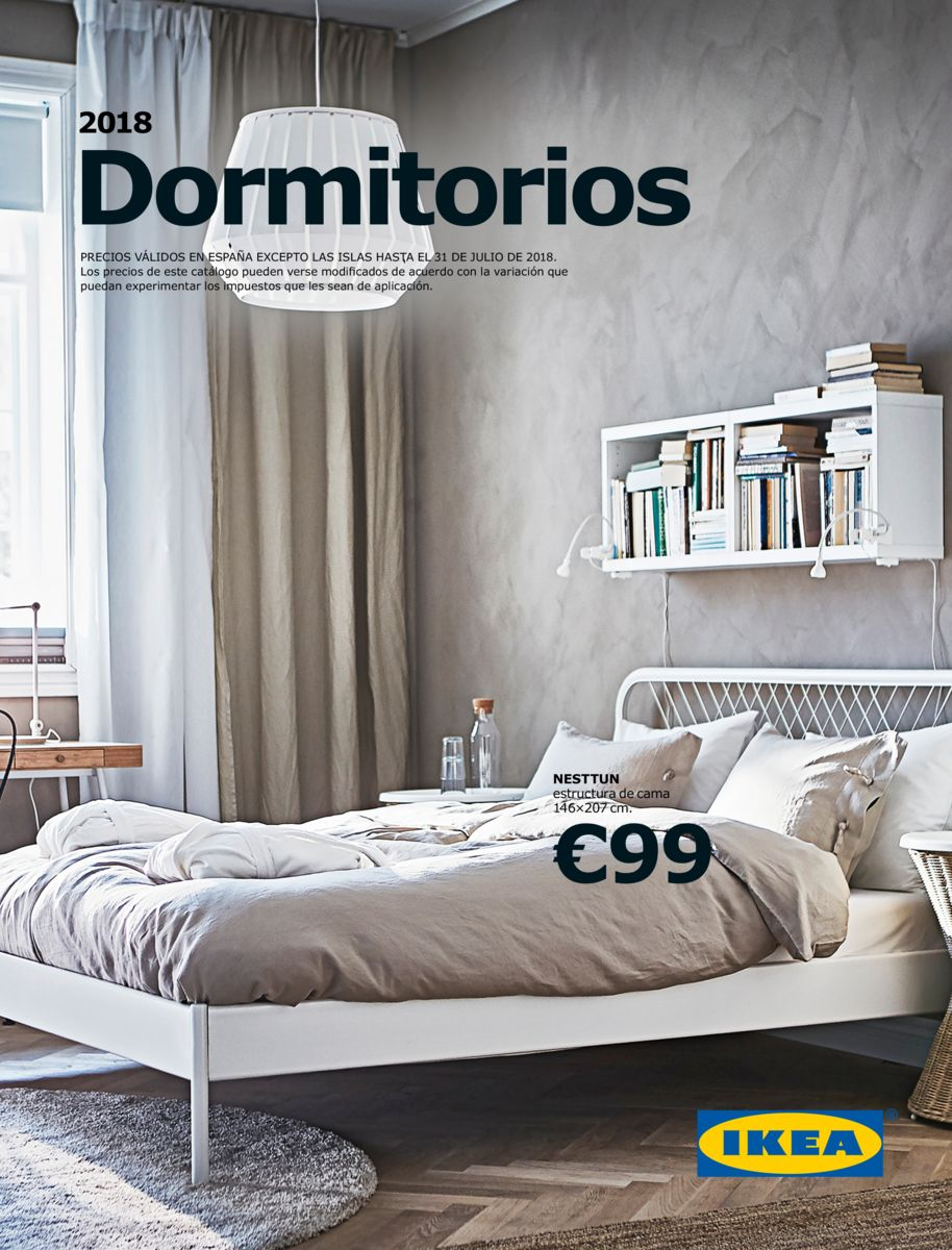 Cat logo ikea 2018 dormitorios de matrimonio imuebles for Catalogo de muebles de dormitorio